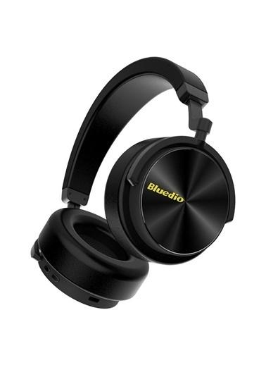 Bluedio T5 Aktif Gürültü Engelleme (ANC) Bluetooth 5.0 Kulaklık Siyah
